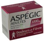 ASPEGIC ADULTES 1000 mg, poudre pour solution buvable en sachet-dose à Hourtin