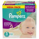 PAMPERS ACTIVE FIT T5 MEGA PACK 68 à Hourtin