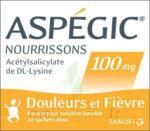 ASPEGIC NOURRISSONS 100 mg, poudre pour solution buvable en sachet-dose à Hourtin