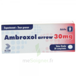 AMBROXOL ARROW 30 mg, comprimé à Hourtin