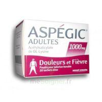 ASPEGIC ADULTES 1000 mg, poudre pour solution buvable en sachet-dose 20 à Hourtin