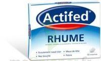 ACTIFED RHUME, comprimé à Hourtin