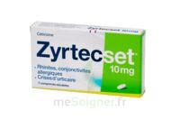 ZYRTECSET 10 mg, comprimé pelliculé sécable à Hourtin