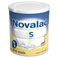 NOVALAC S 1, 0-6 mois bt 800 g à Hourtin
