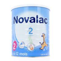 NOVALAC LAIT 2, 6-12 mois BOITE 800G à Hourtin