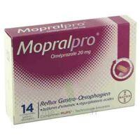 MOPRALPRO 20 mg Cpr gastro-rés Film/14 à Hourtin