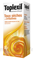 TOPLEXIL 0,33 mg/ml, sirop 150ml à Hourtin