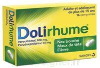 DOLIRHUME PARACETAMOL ET PSEUDOEPHEDRINE 500 mg/30 mg, comprimé à Hourtin