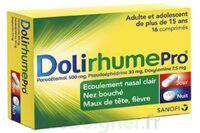 DOLIRHUMEPRO PARACETAMOL, PSEUDOEPHEDRINE ET DOXYLAMINE, comprimé à Hourtin