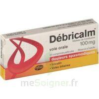 DEBRICALM 100 mg, comprimé pelliculé à Hourtin