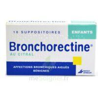 BRONCHORECTINE AU CITRAL ENFANTS, suppositoire à Hourtin