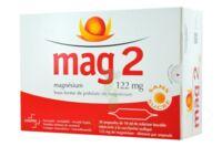 MAG 2 SANS SUCRE 122 mg, solution buvable en ampoule édulcoré à la saccharine sodique à Hourtin