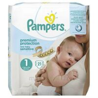 Pampers couches new baby sensitive taille 1 - 21 couches à Hourtin