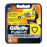 Lames de rasoir fusion proshield GILLETTE, 4 recharges à Hourtin