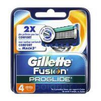 Lames pour rasoir fusion proglide flexball GILLETTE, 4 unités à Hourtin