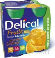 DELICAL BOISSON FRUITEE Nutriment édulcoré orange 4Bouteilles/200ml à Hourtin