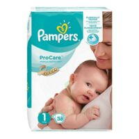 PAMPERS PROCARE PREMIUM Couche protection T1 2-5kg Paq/38 à Hourtin