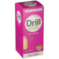 DRILL MAUX DE GORGE ALFA AMYLASE 200 U.CEIP/ml, sirop à Hourtin