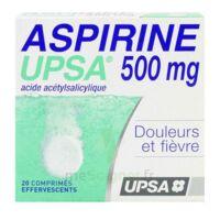 ASPIRINE UPSA 500 mg, comprimé effervescent à Hourtin