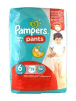 Pampers Baby Dry Pants T6 - 15+kg à Hourtin