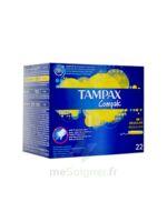 Tampax Compak Régulier tampon flux normal à Hourtin