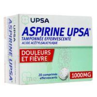 ASPIRINE UPSA TAMPONNEE EFFERVESCENTE 1000 mg, comprimé effervescent à Hourtin