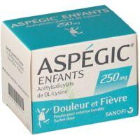 ASPEGIC ENFANTS 250, poudre pour solution buvable en sachet-dose à Hourtin