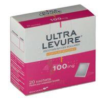 ULTRA-LEVURE 100 mg Poudre pour suspension buvable en sachet B/20 à Hourtin