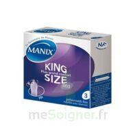 Manix King Size Préservatif avec réservoir lubrifié confort B/3 à Hourtin